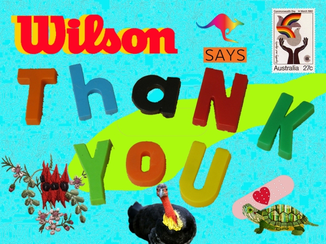 WiLSON says THANKYOU